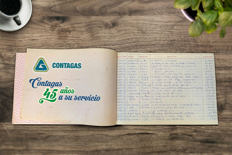 CONTAGAS cumple 45 años