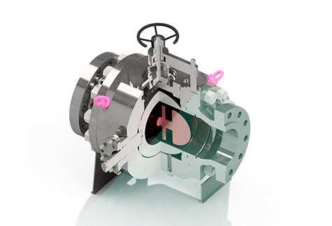 PIG VALVE-Plate supported ball-TIV