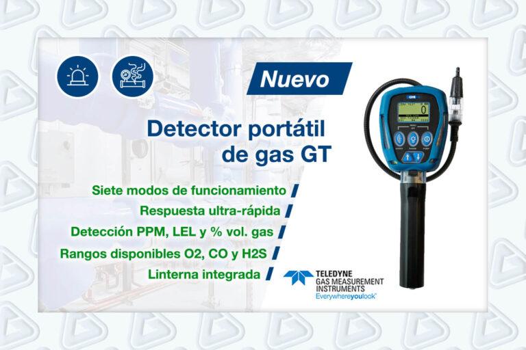 Noticia detector gas GT Teledyne
